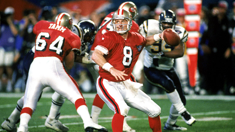 Steve Young vs. Chargers