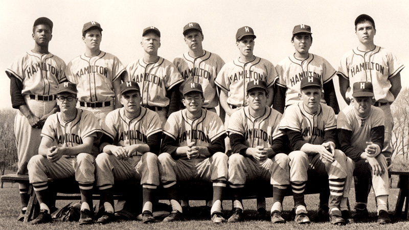 Hamilton Baseball - 1963