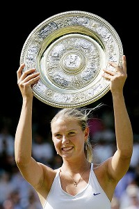 It's hard to believe, but eight years have passed since Maria Sharapova's first Grand Slam win.