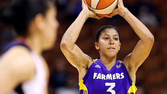 The WNBA's summer season allows it to offer lower salaries, yet still attract players like Candace Parker.
