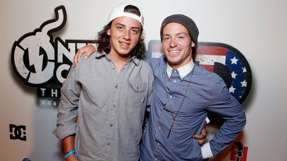 Mark McMorris, Shaun Pettit