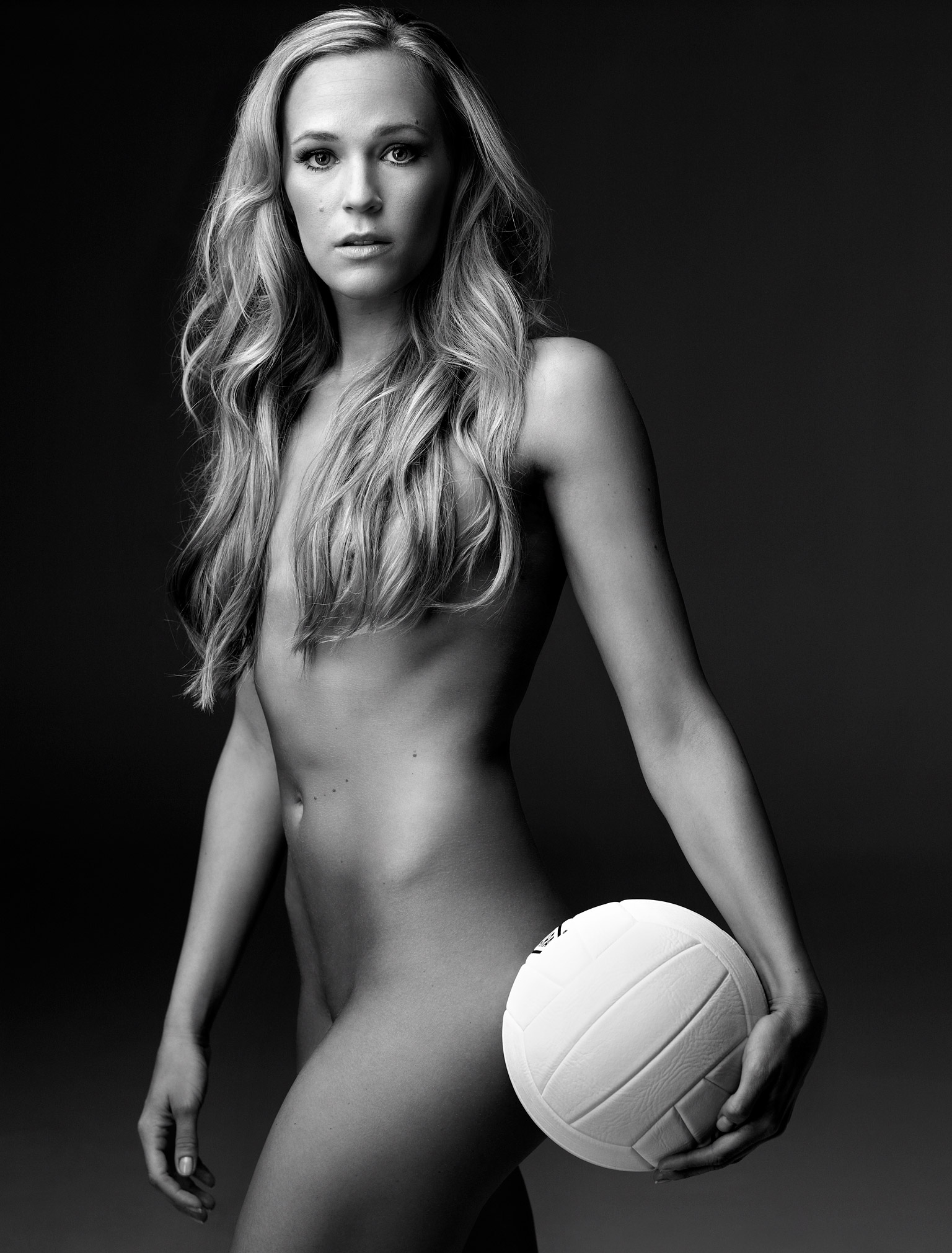 hot nude female volleyball