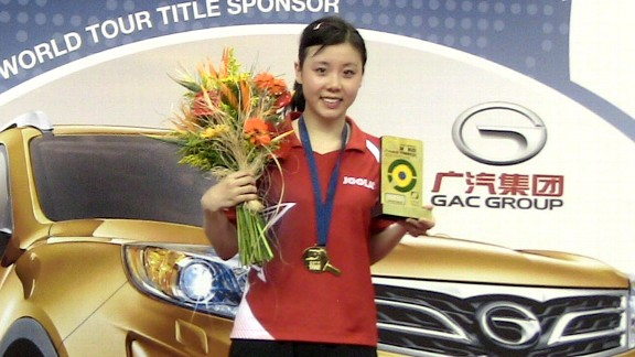 Ariel Hsing won the under-21 division at the Brazil Open, and defended her 2011 title at the North American Cup, all as practice to gear up for the London Games.