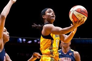 Ivory Latta of the Tulsa Shock cares a lot about her hair, but knows that, in the end, basketball is a lot more important.