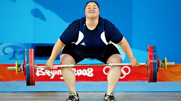 Cheryl Haworth, battling knee and shoulder injuries, finished sixth in the Beijing Games in 2008.