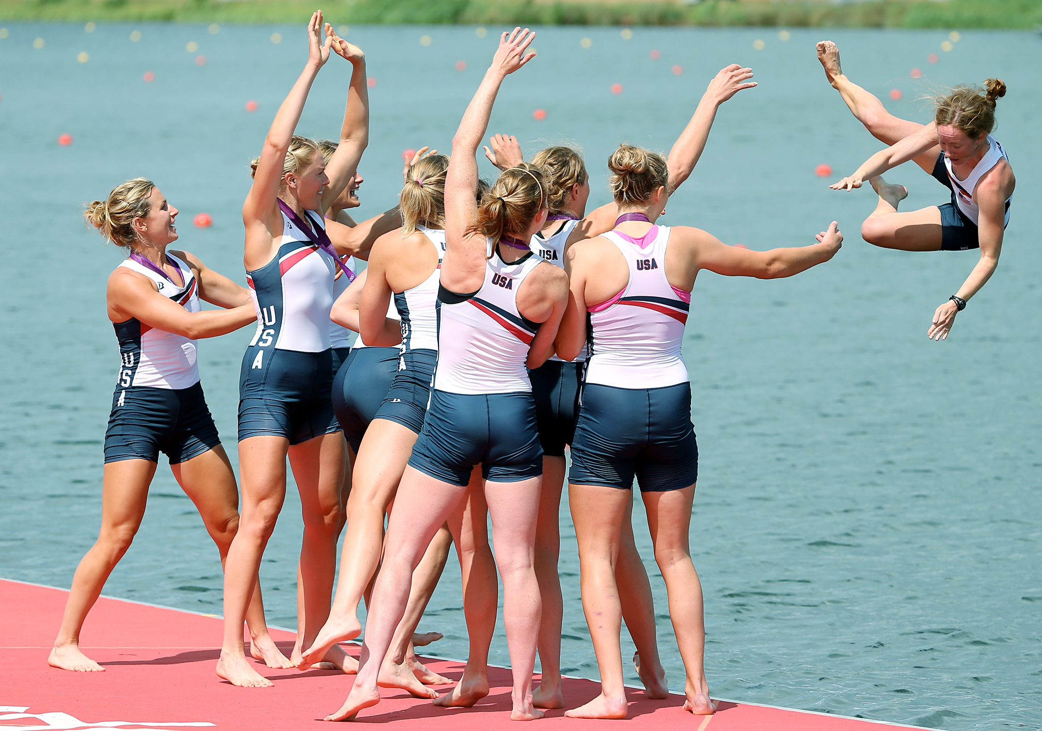 Women's Eight Rowing