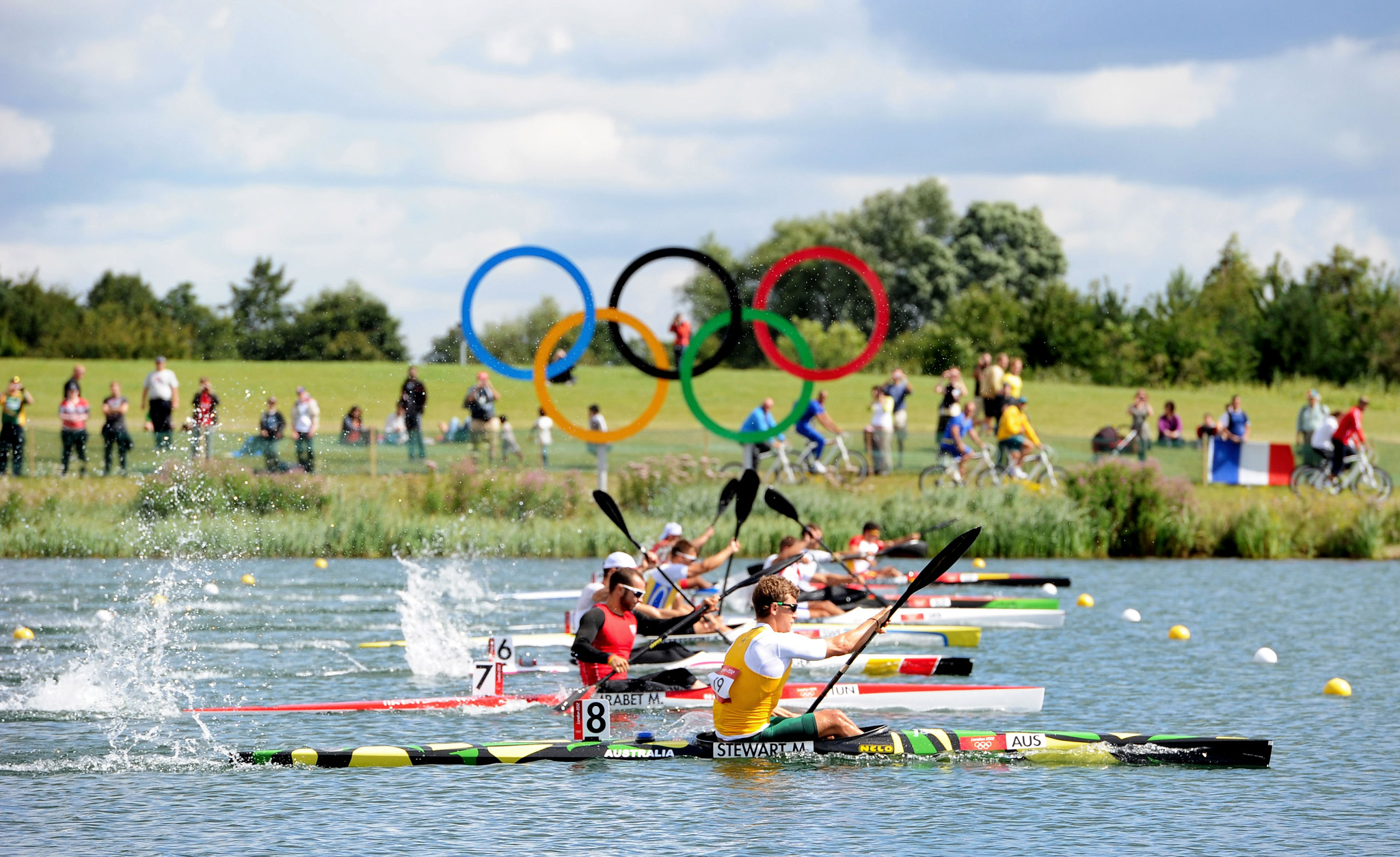 1000m Canoe Sprint semifinal