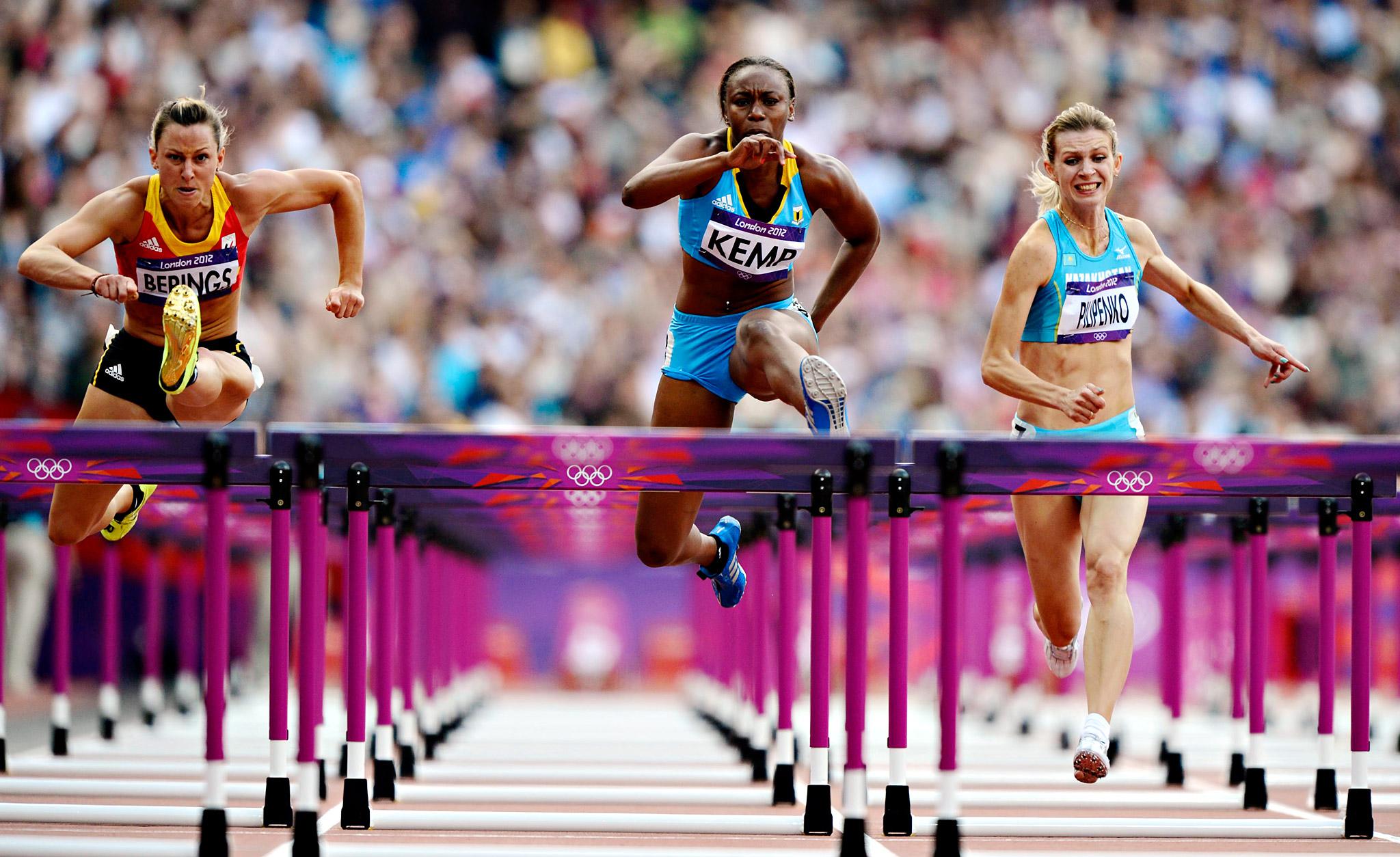 Women's 100m Hurdles Heats