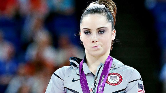 If you can pull off the McKayla Maroney scowl, dressing up as the gymnast is a winner.