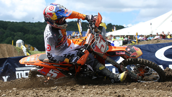 Ryan Dungey's win at Unadilla secured him the Lucas Oil Pro Motocross Championship Title for 2012.