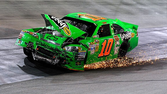 Though disappointing, the 29th-place finish was Danica Patrick's best in four Sprint Cup races.