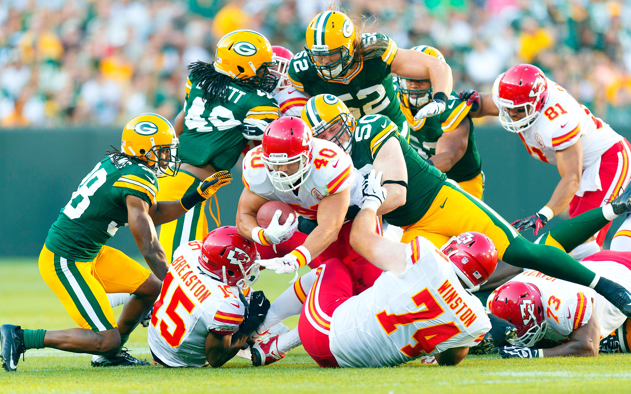 Packers vs Chiefs