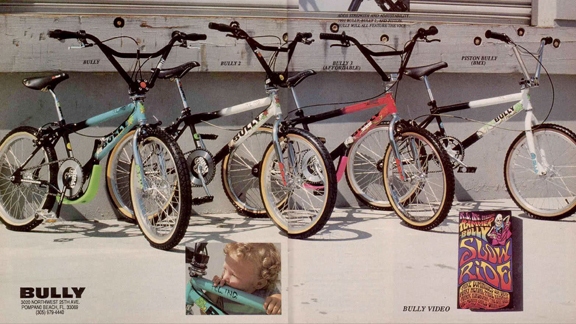 In 1989, R.L. Osborn parted ways with General and started Bully Bicycles.