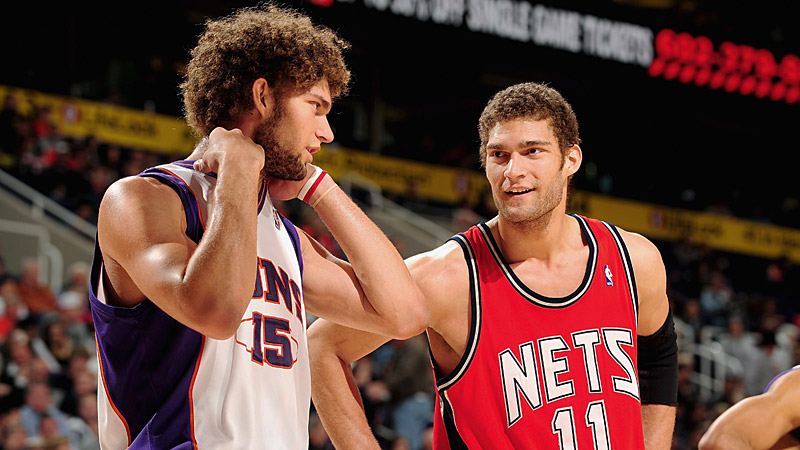 Brook and Robin Lopez
