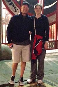 Lindsay Whalen and husband