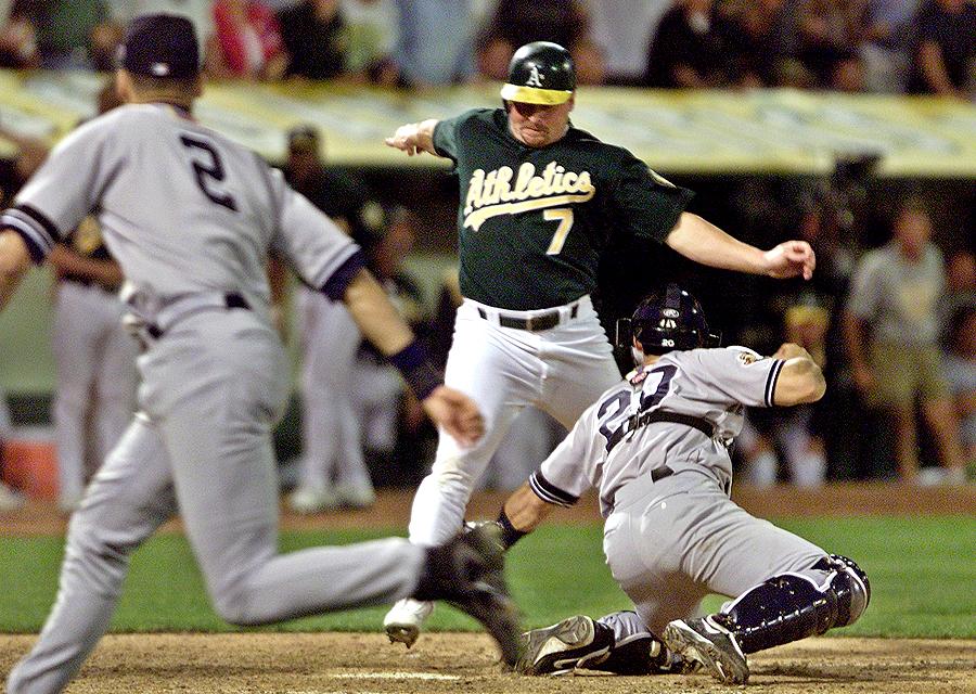 2001 ALDS: Yankees over Athletics
