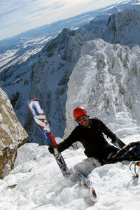Chris Onufer at home in the Tetons.