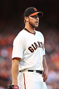 Madison Bumgarner has not been the same pitcher over the past few weeks.