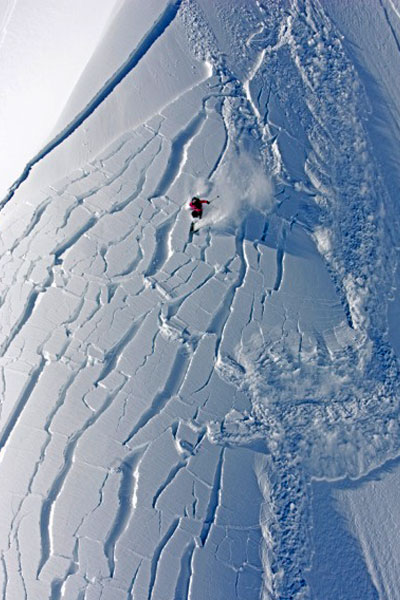 The 2006 avalanche in BC that nearly killed Andrea Binning.