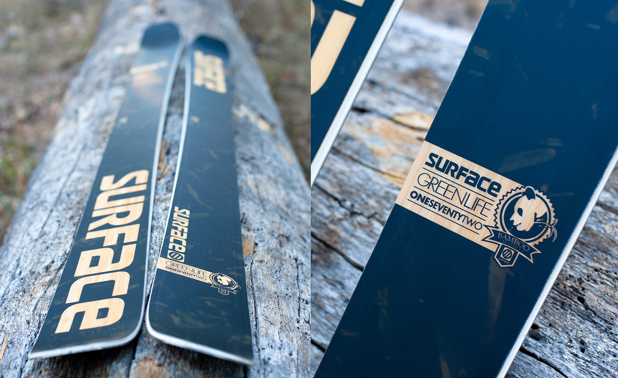 Surface Skis: Green Life