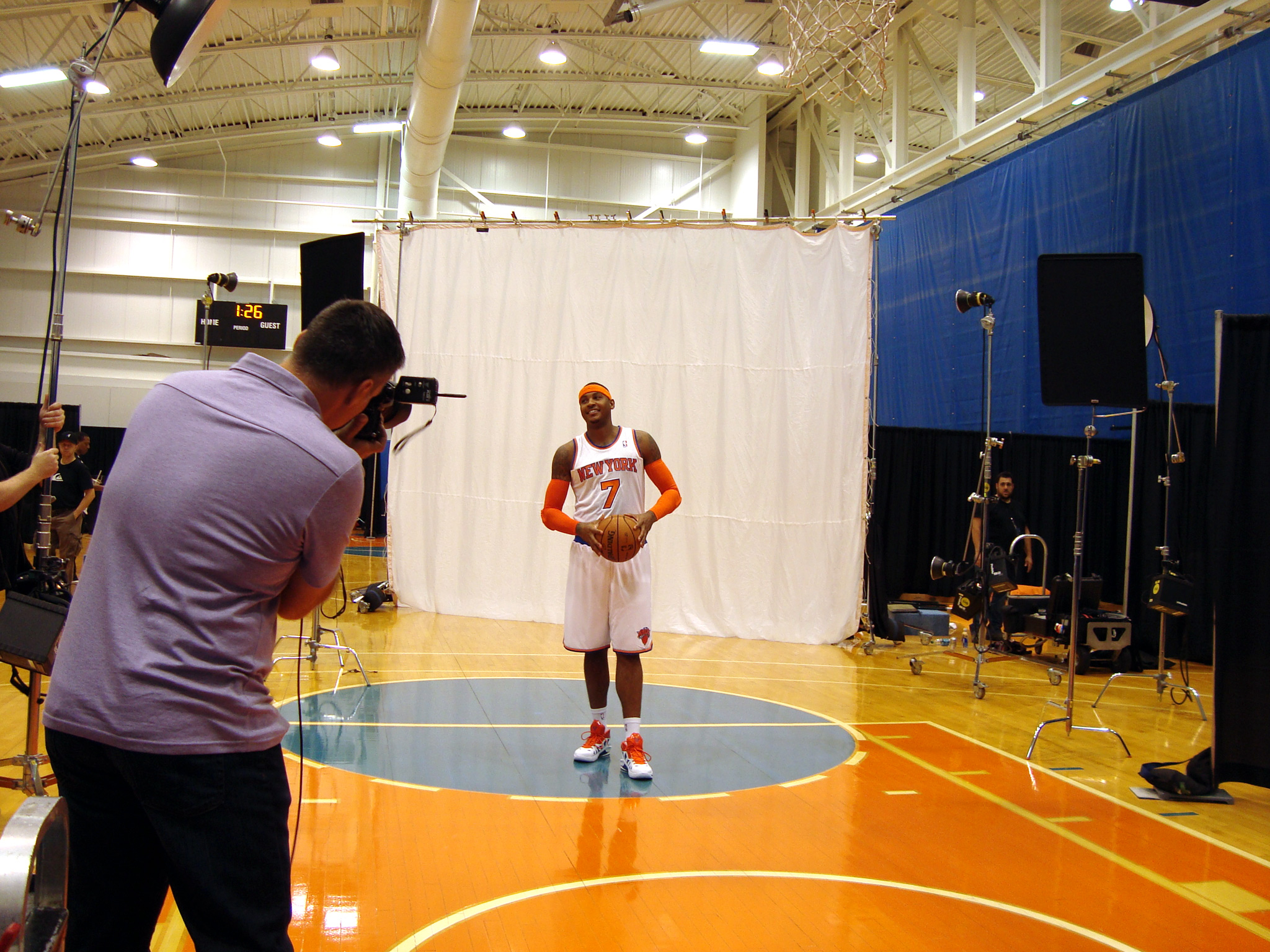 Carmelo Anthony: Behind the Scenes