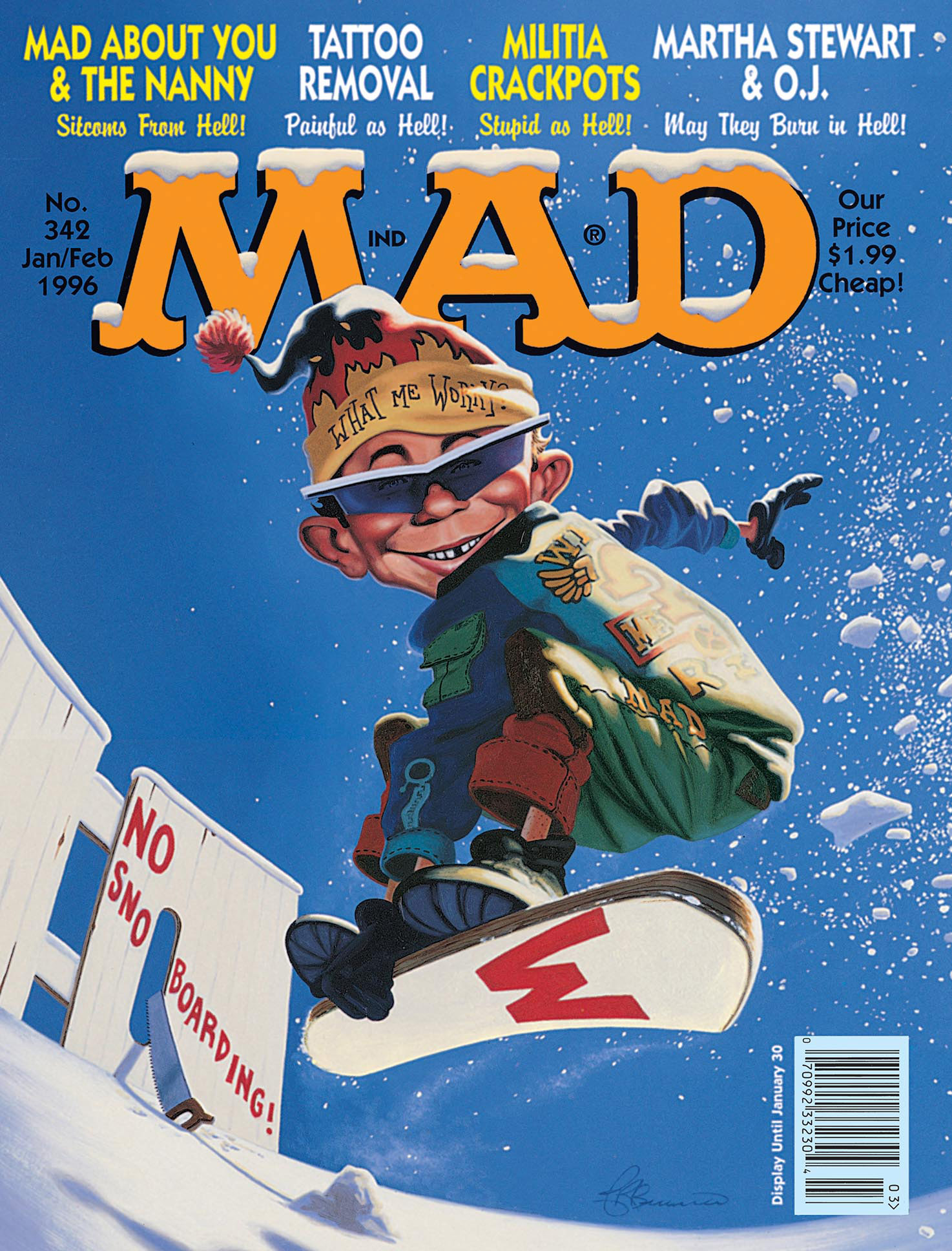 Mad Magazine Sports Covers