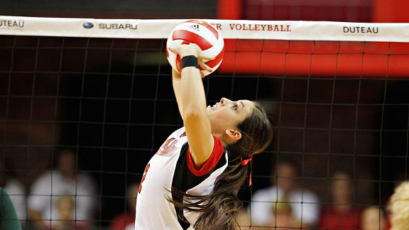 Lauren Cook keyed Nebraska's comeback win over Penn State.