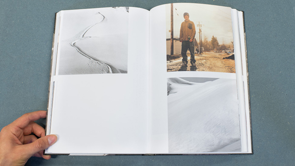 'Drifting Decade,' covering ten years of snowboarding and photography, is out now.