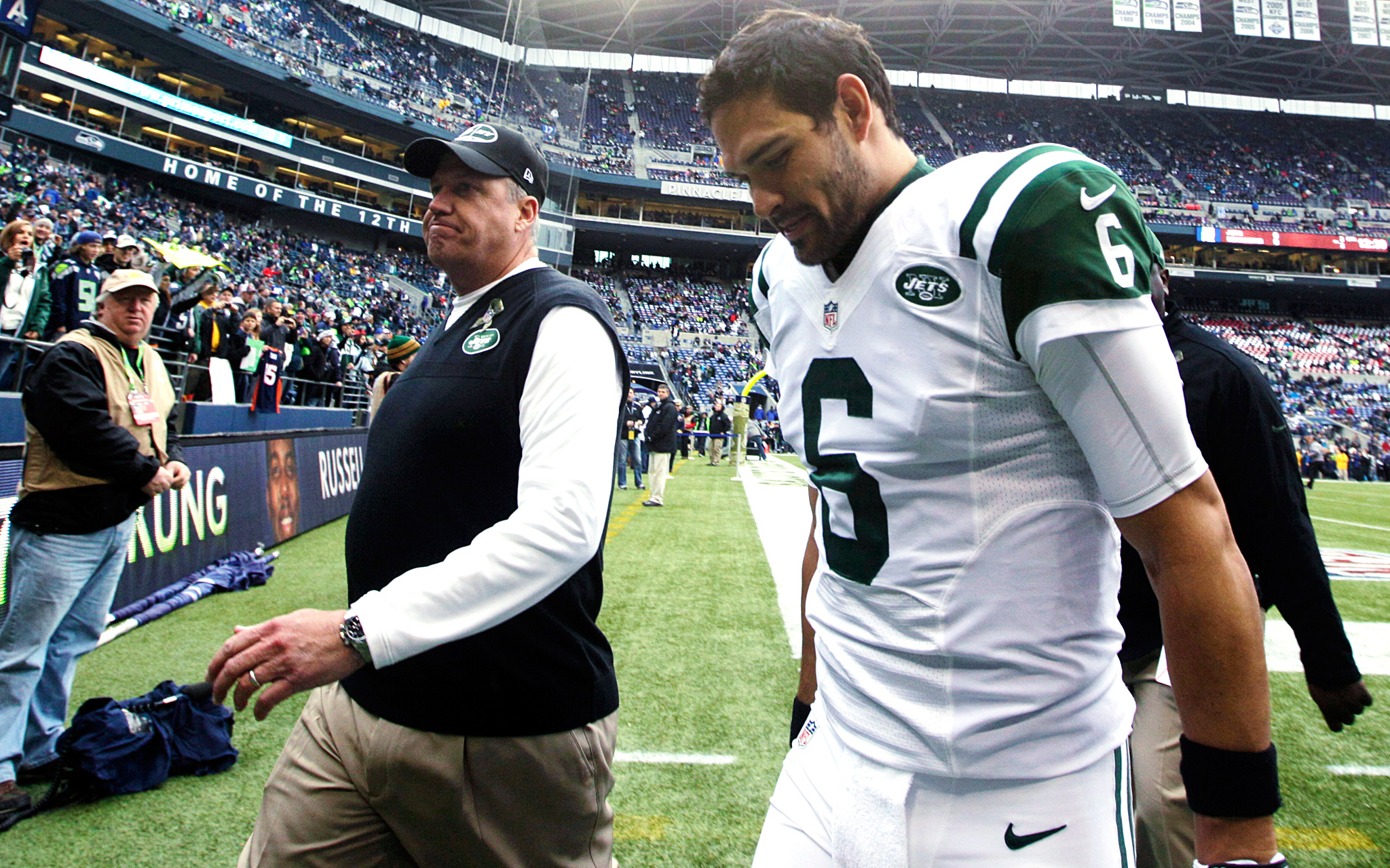 Rex Ryan and Mark Sanchez
