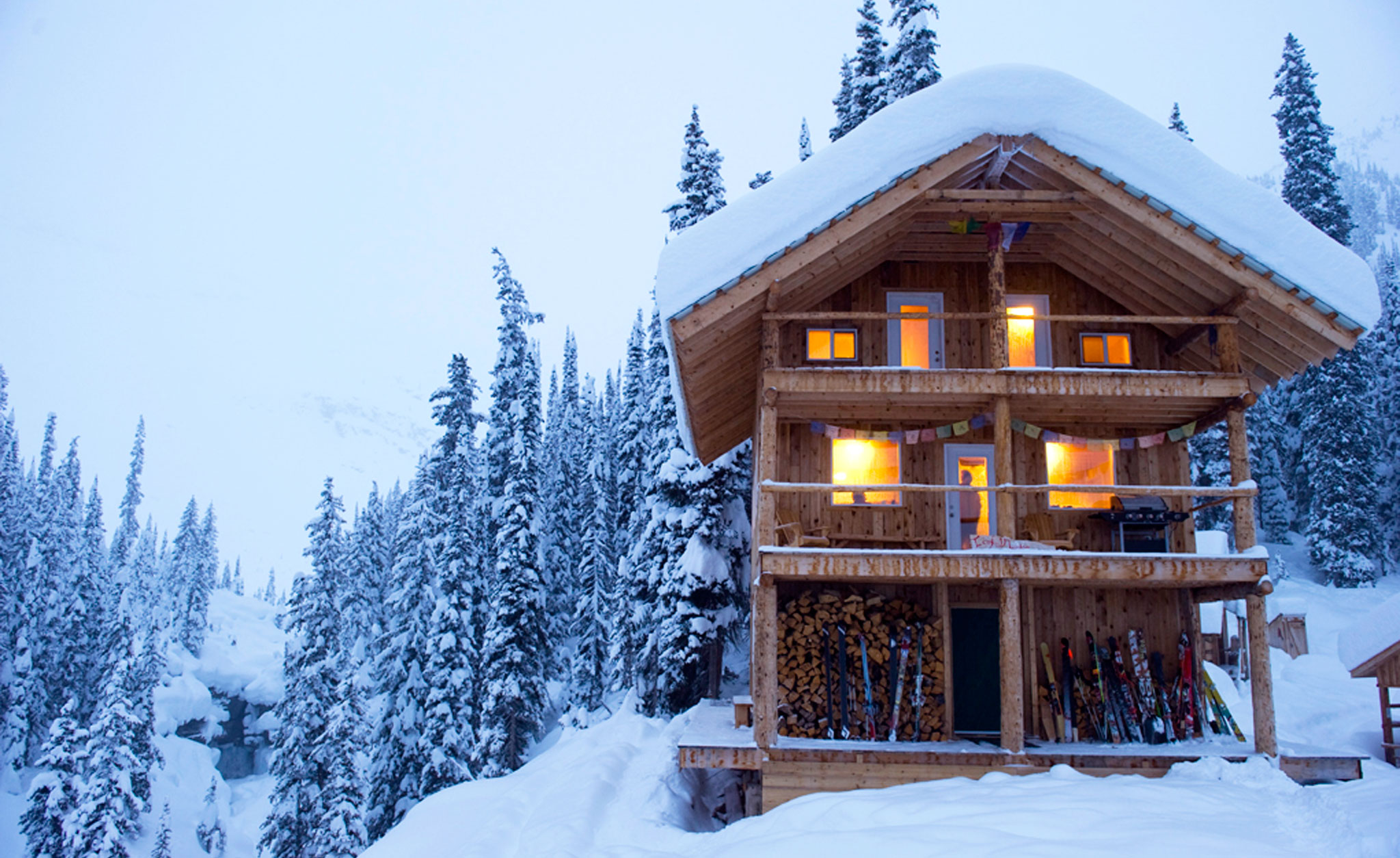 Best backcountry huts in north america for Ski cottage