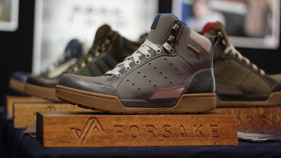 Introducing waterproof sneakers made for skiers.