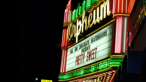 The historic Orpheum Theatre played host to the eagerly anticipated premiere of Pretty Sweet, the first Girl/Chocolate film in a decade.