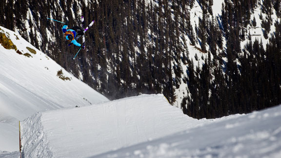 Dane Tudor won the 2012 Red Bull Cold Rush in Silverton, Colo.