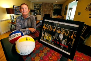 VCU volleyball coach James Finley -- who believes he was fired because he is gay -- wants to be judged on his work, not on the person he loves.