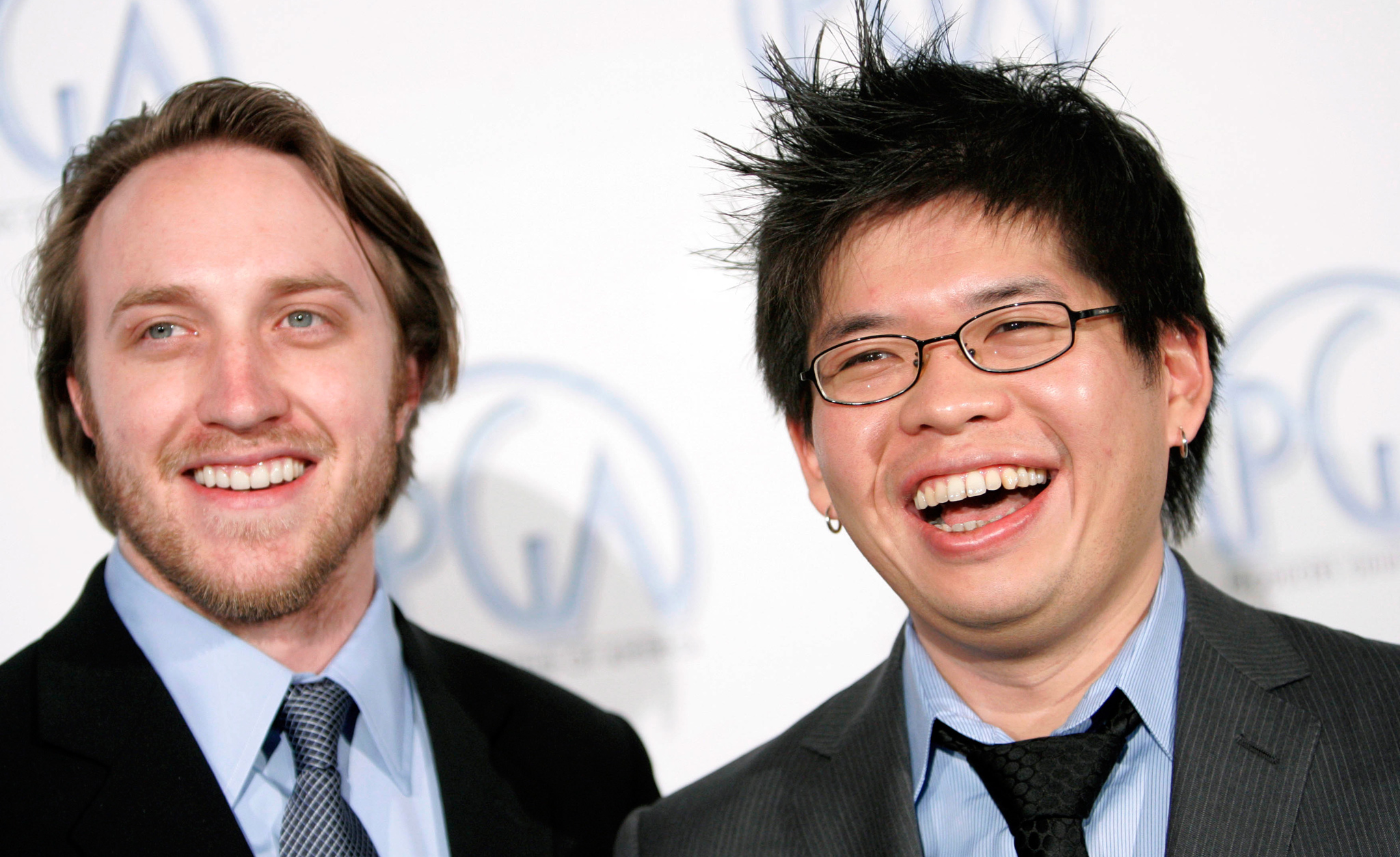 25: Chad Hurley and Steve Chen