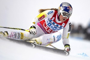 Lindsey Vonn's 57th career World Cup win, the second-most in history, was her 20th in super-G.