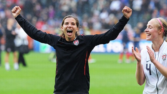 Tobin Heath is feeling great after London and wants to continue playing soccer -- day in and day out.