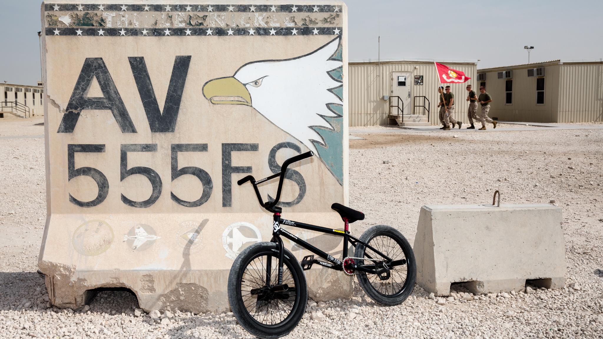 Bikes Over Baghdad