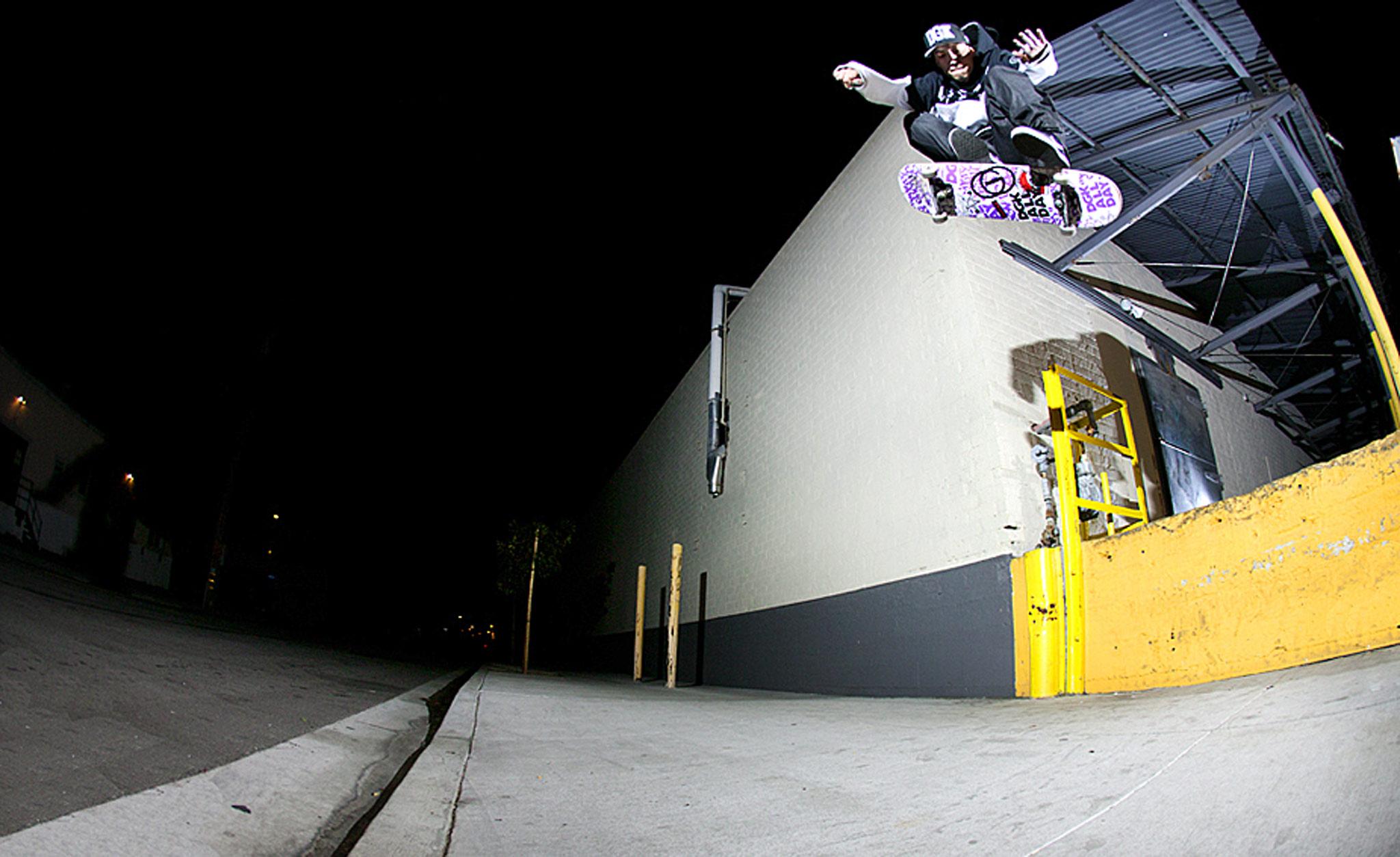 Lenny Rivas, Frontside Bigspin