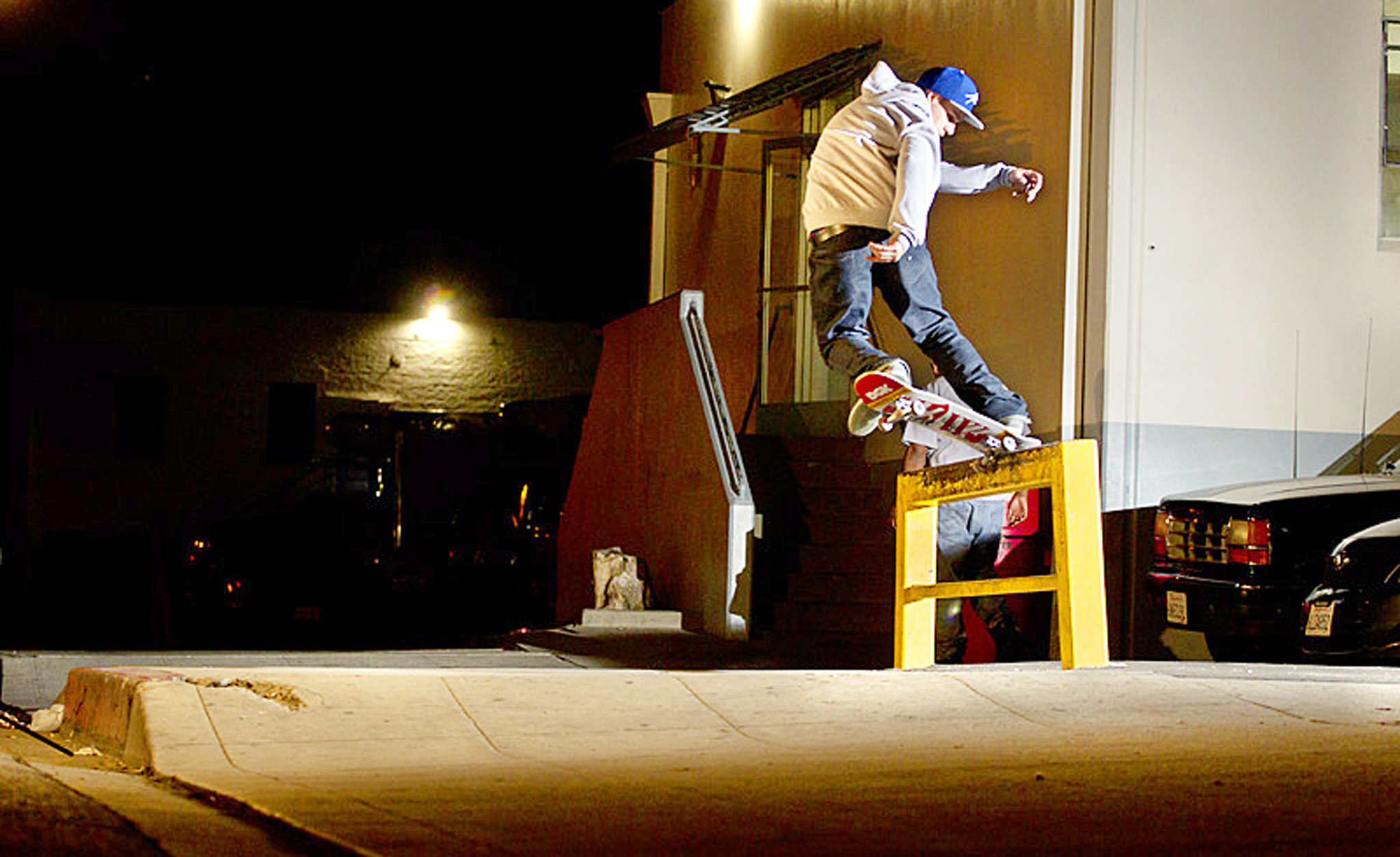 Wade Desarmo, Backside 180 Nosegrind