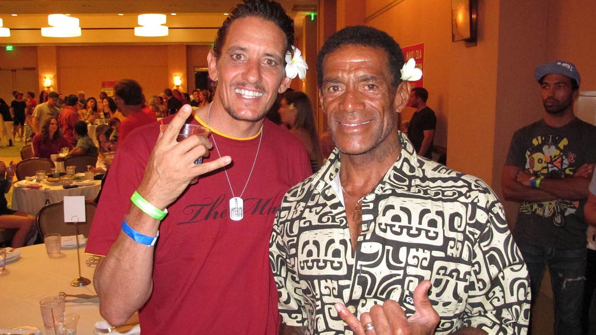 Buttons Kaluhiokalani and Mark Gabriel