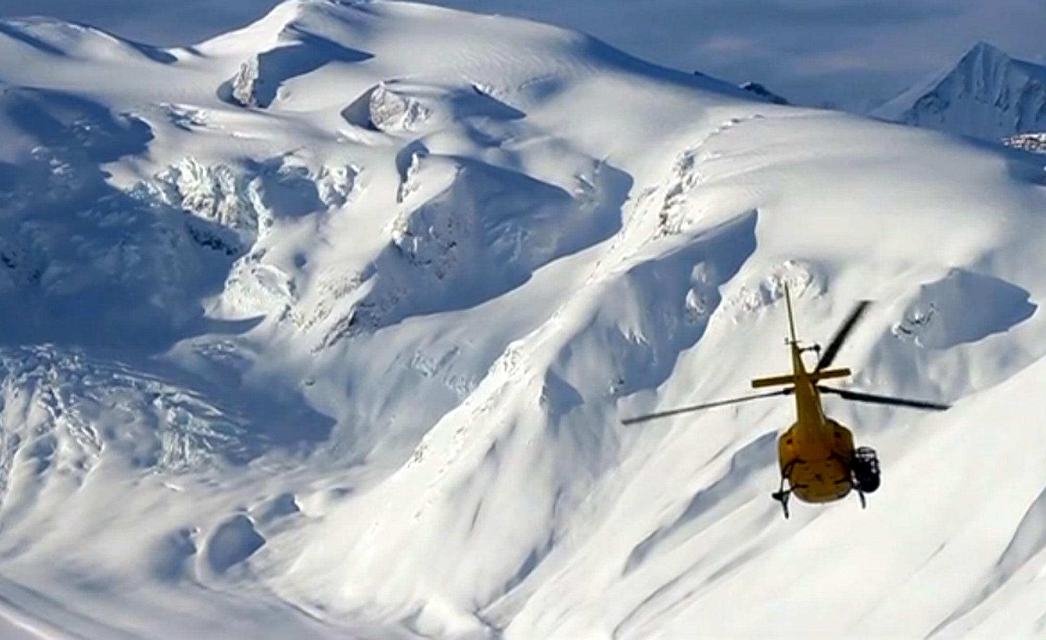 Last Frontier Heliskiing in British Columbia.