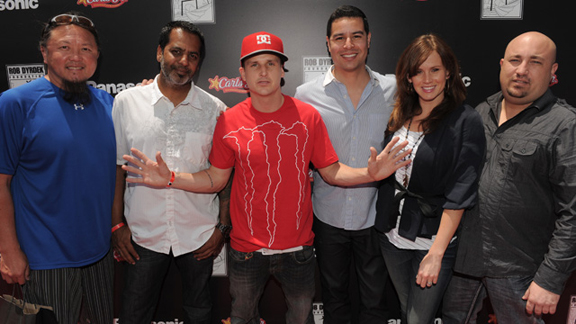 Rob Dyrdek and the staff of his foundation.