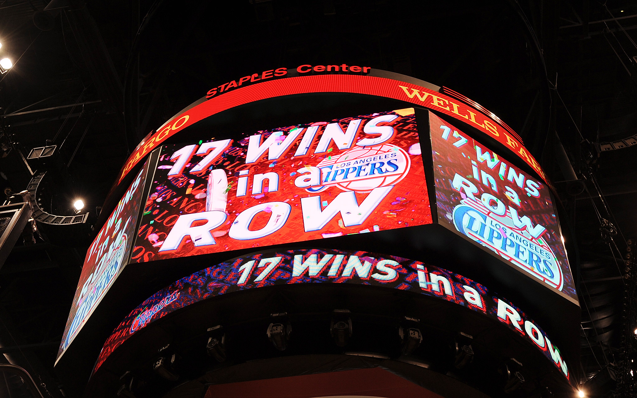 Clippers Jumbotron