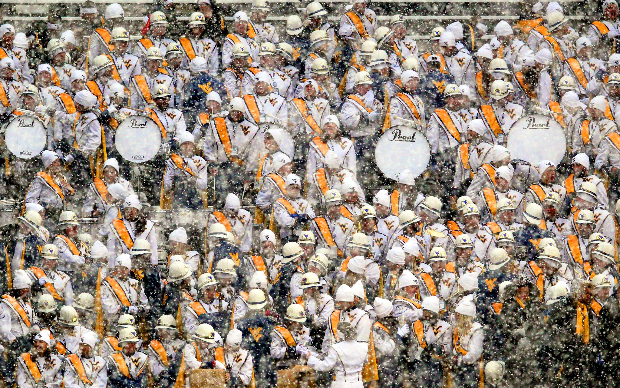 West Virginia Mountaineers band