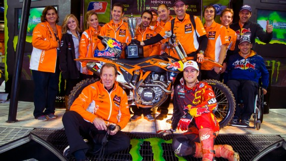 Roger DeCoster, Ryan Dungey, KTM team