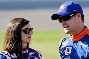 Danica Patrick and Ricky Stenhouse Jr. confirmed they are more than just competitors ... they are dating.