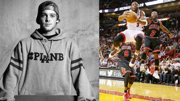 Ryan Sheckler and Dwyane Wade