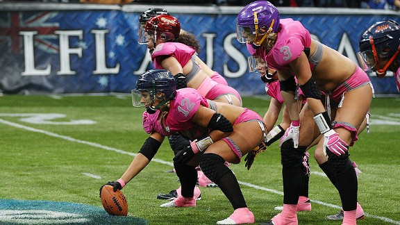 The Lingerie Football League will be rebranded as the Legends Football League, trading in its lace for activewear.