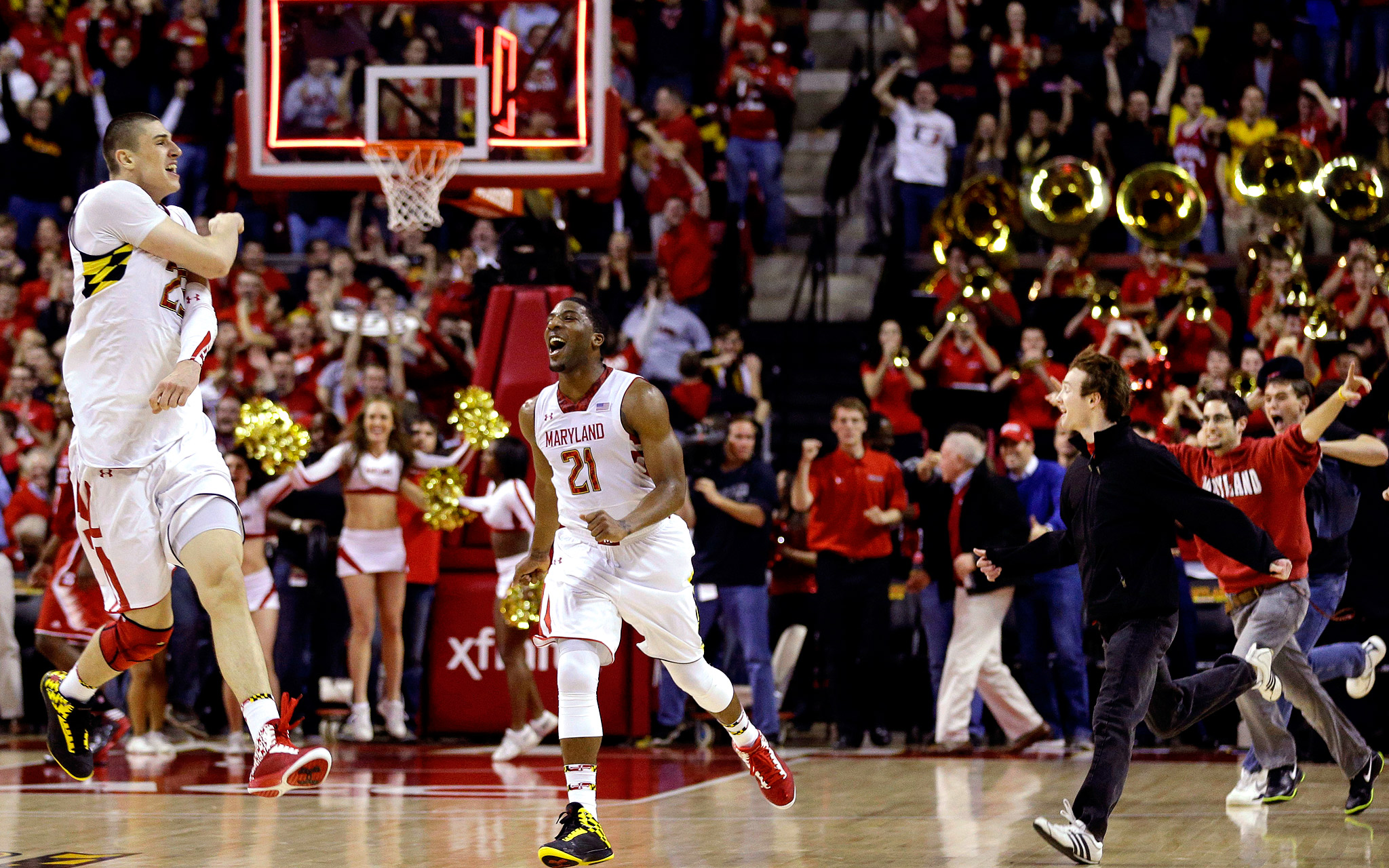 Terps on top